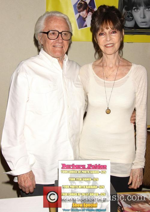 Robert Vaughn and Barbara Feldon