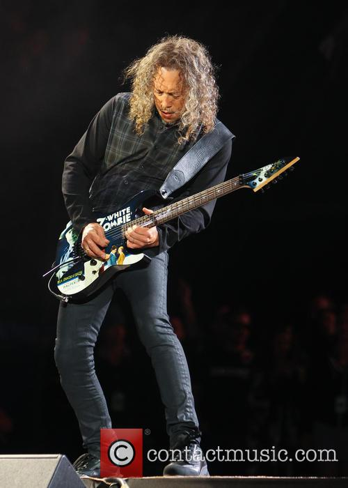 Metallica and Kirk Hammett 1