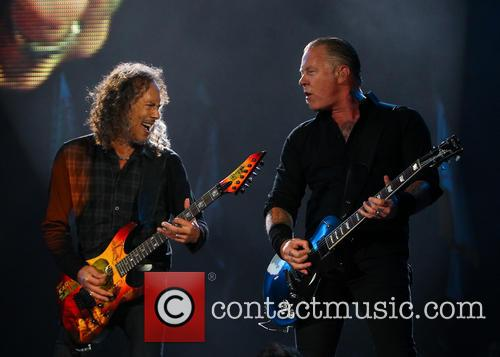 Metallica, James Hetfield and Kirk Hammett 2