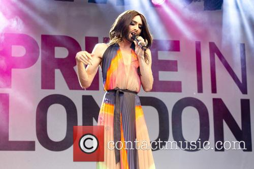 Conchita Wurst performs at Pride in London 2014