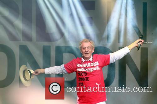 Ian McKellen, Trafalgar Square