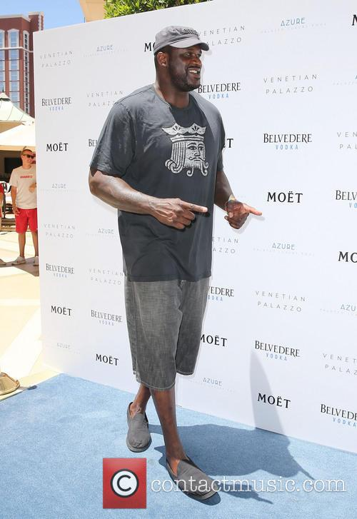 Shaquille O'Neal hosts the Azure Luxury Pool Party
