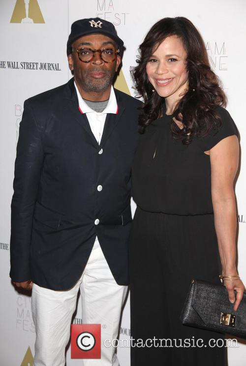 Spike Lee and Rosie Perez 5