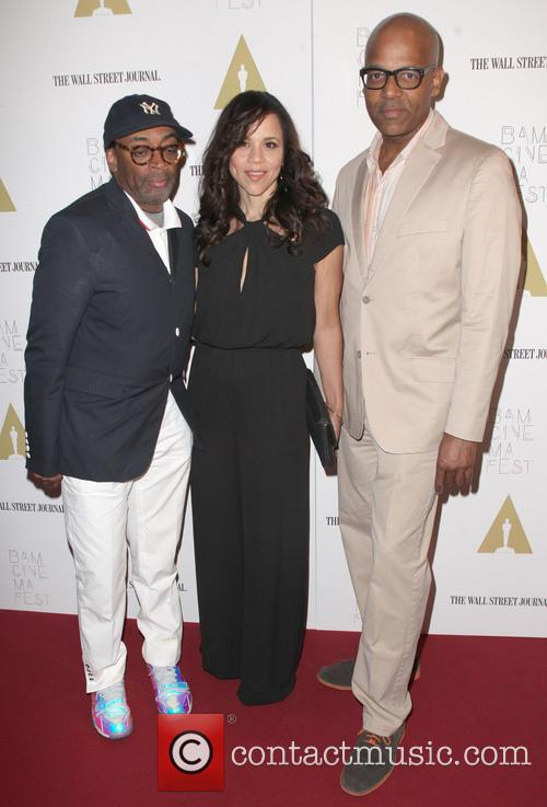 Spike Lee, Rosie Perez and Patrick Harrison 7