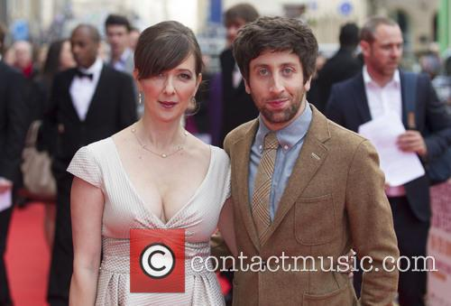 Simon Helberg and Jocelyn Towne 6