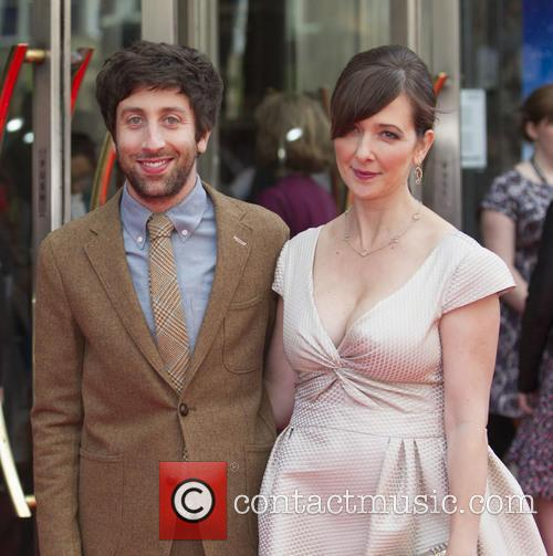 Simon Helberg and Jocelyn Towne 7