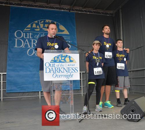 Gia Allemand Family Participates in Suicide Awareness Walk