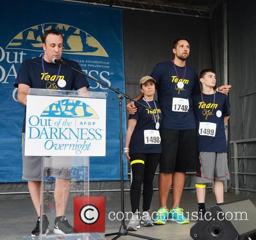 Craig Robinson, Donna Micheletti, Ryan Anderson and Dylan Micheletti 3