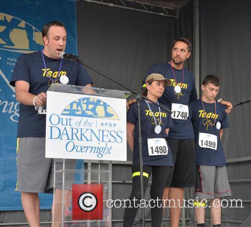Craig Robinson, Donna Micheletti, Ryan Anderson and Dylan Micheletti 4