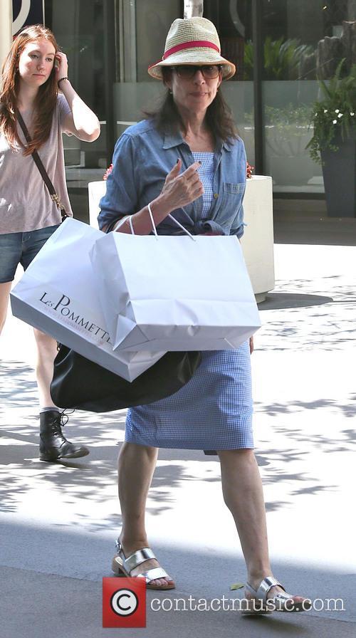 Katey Sagal On Shopping Spree