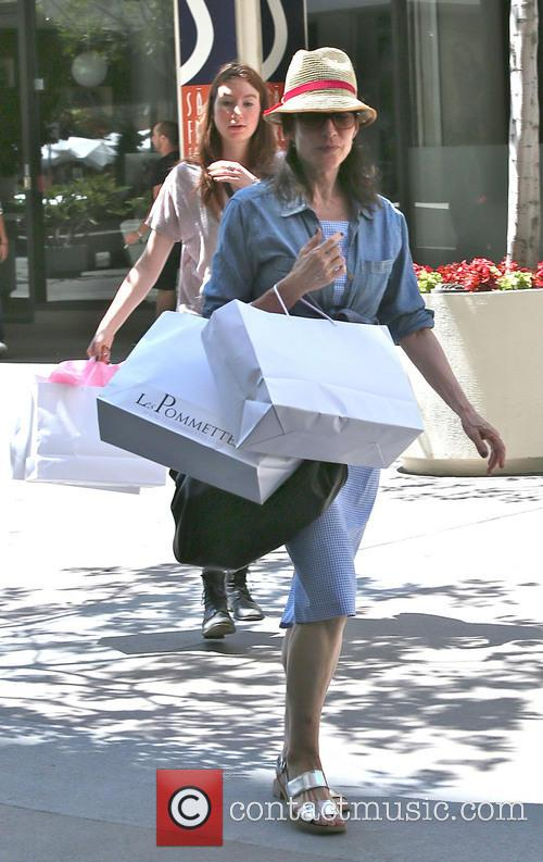 Katey Sagal On Shopping Spree