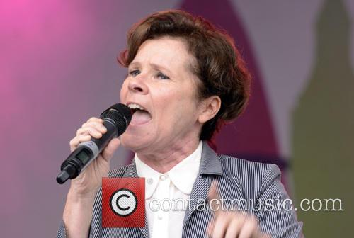 imelda staunton london gay pride 2014 4264687