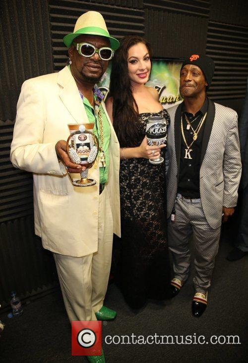 Katt Williams, Bishop Don Magic Juan and Dj Krazy 3