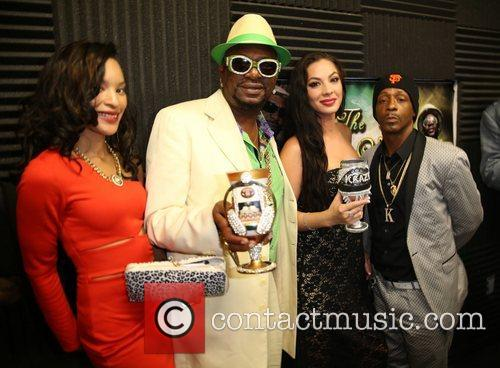 Katt Williams, Bishop Don Magic Juan and Dj Krazy 1