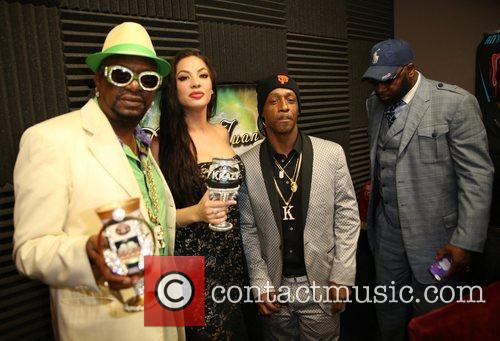 Katt Williams, Bishop Don Magic Juan and Dj Krazy 6