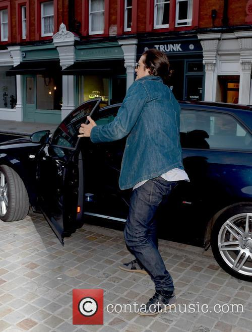 orlando bloom celebrities at chiltern firehouse 4265619