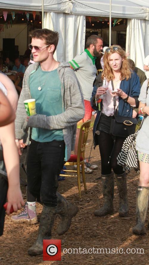 matt smith laura carmichael glastonbury festival 4265136