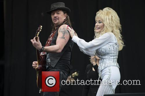 Dolly Parton and Richie Sambora 10