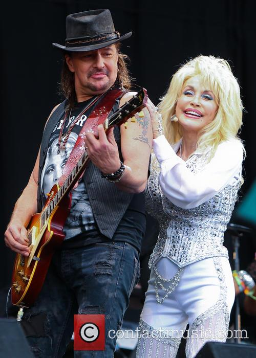 Dolly Parton and Richie Sambora 9