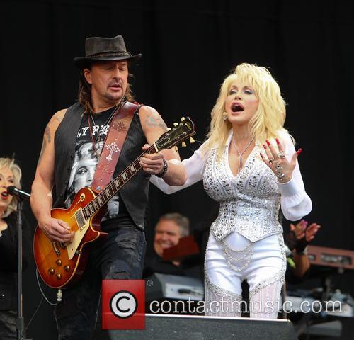 Dolly Parton and Richie Sambora 4