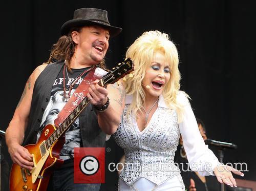 Dolly Parton and Richie Sambora 1