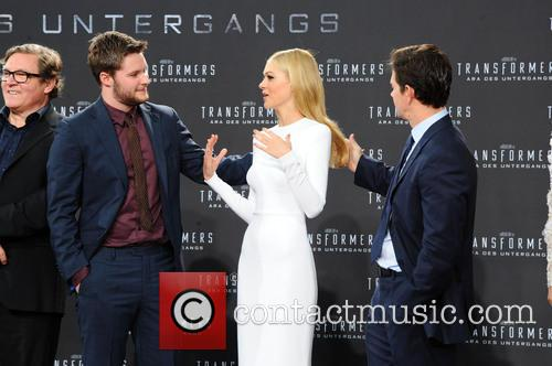 Jack Reynor, Nicola Peltz, Mark Wahlberg, Sony Center