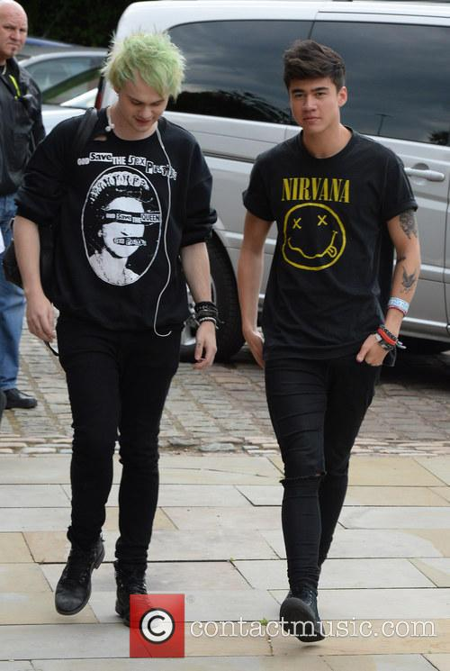 5 Seconds of Summer arrive at Key 103...