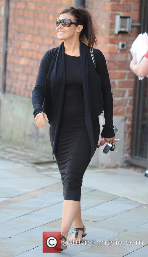 Kym Marsh leaves Key 103 Radio studios