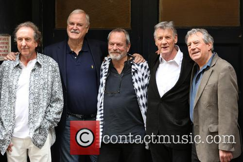 Eric Idle, John Cleese, Terry Gilliam, Michael Palin and Terry Jones 3