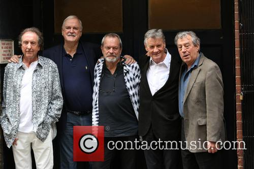 Eric Idle, John Cleese, Terry Gilliam, Michael Palin and Terry Jones 5