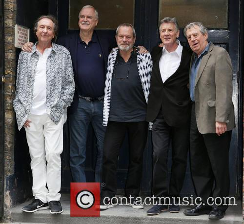 Eric Idle, John Cleese, Terry Gilliam, Michael Palin and Terry Jones 2