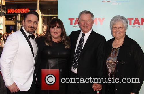 Michael Mccarthy, Sandra Mccarthy, Melissa Mccarthy and Ben Falcone 2