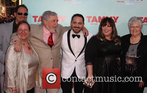 Michael Mccarthy, Sandra Mccarthy, Melissa Mccarthy, Ben Falcone and Mrs Mr Falcone 3