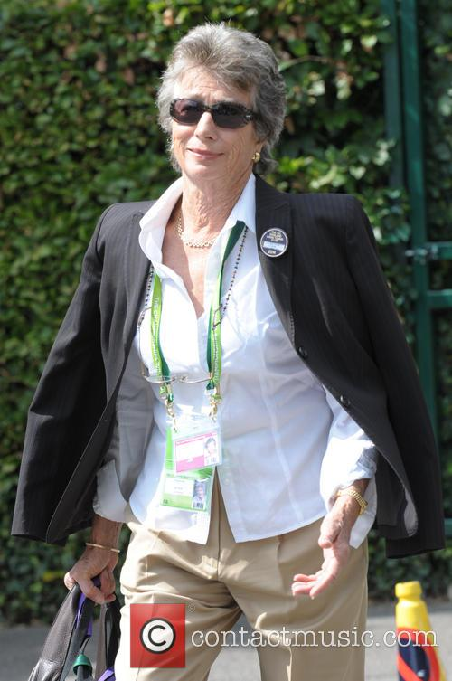 Celebrities arriving at Wimbledon
