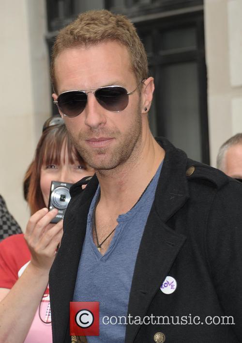 chris martin celebrities at the bbc radio 4267240