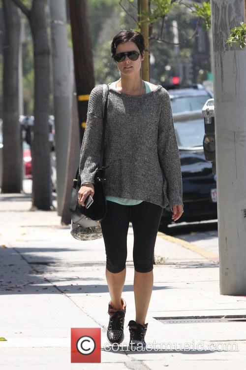 Jaimie Alexander Out And About