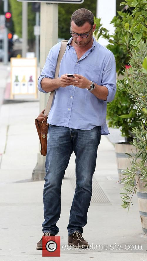 Liev Schreiber out and about