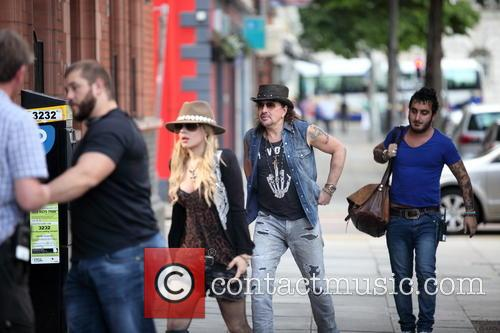Orianthi Panagaris and Richie Sambora 2