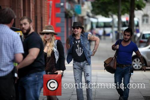 Richie Sambora and Orianthi In Belfast