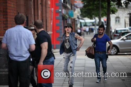 Richie Sambora and Orianthi In Belfast