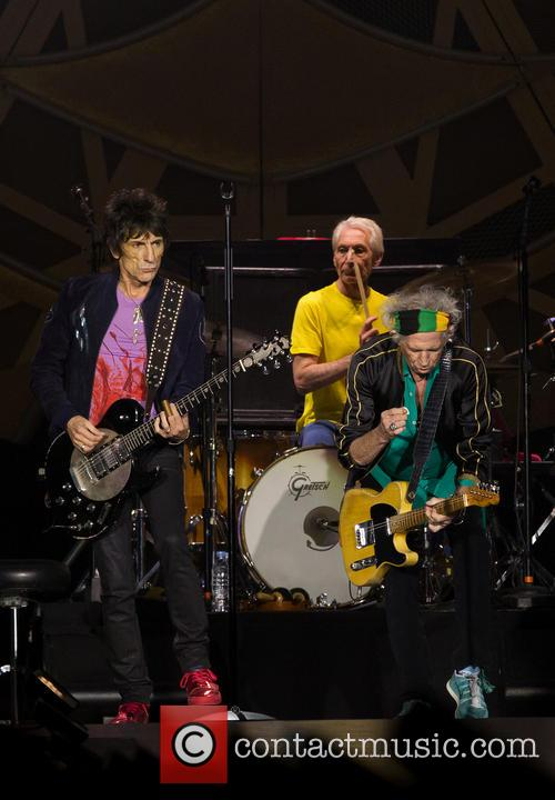 Charlie Watts, Ronnie Wood and Keith Richards 2