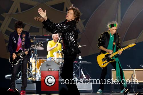 Mick Jagger, Ronnie Wood and Keith Richards 11