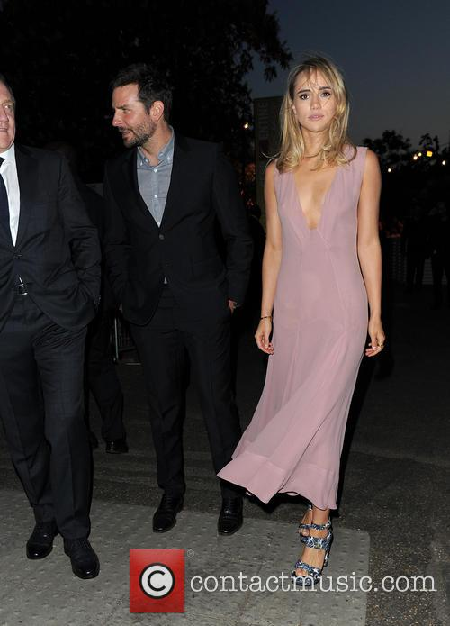 Suki Waterhouse and Bradley Cooper at The Serpentine...