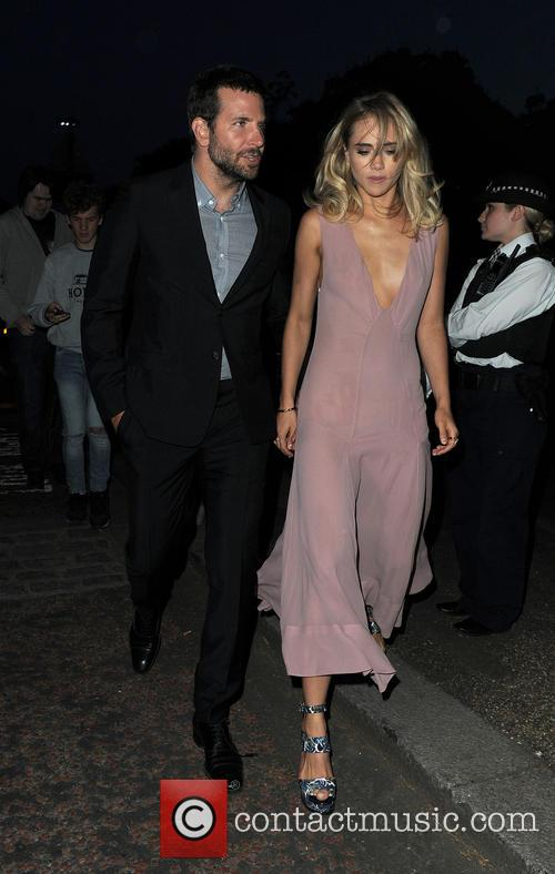 Bradley Cooper and Suki Waterhouse 2