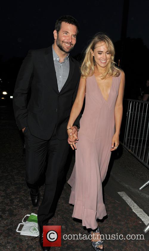 Bradley Cooper and Suki Waterhouse 4