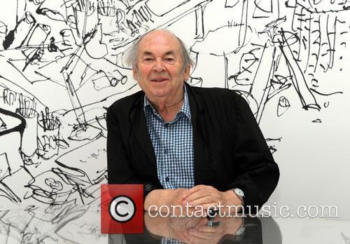 Sir Quentin Blake exhibition photocall