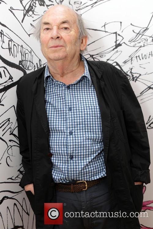 Sir Quentin Blake exhibition photocall