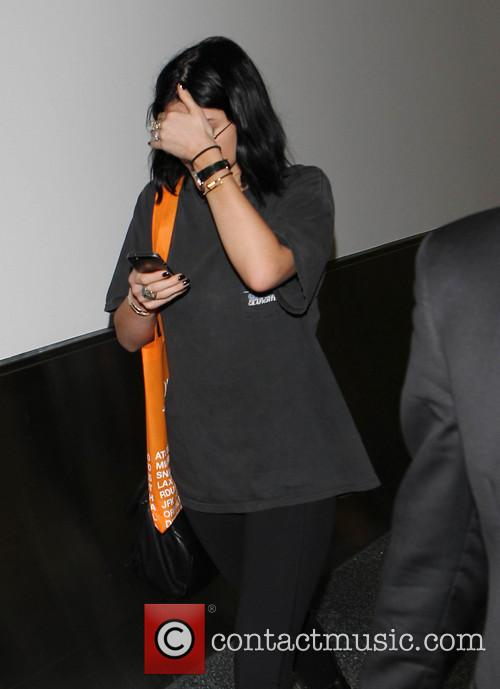 Kylie Jenner, Los Angeles International Airport (LAX)