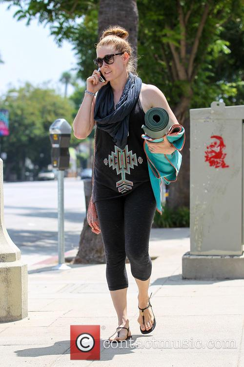 Adam Adams Leaves Her Yoga Class