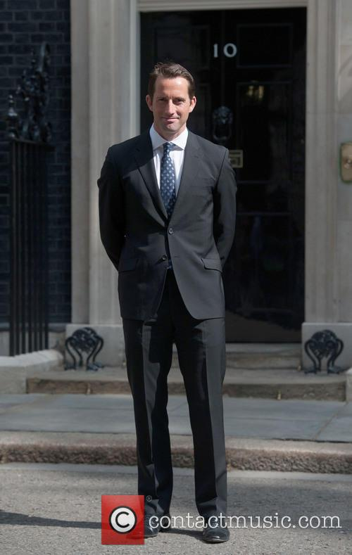 Ben Ainslie at Downing Street